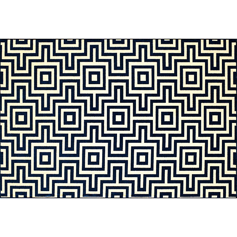 Momeni Baja Geometric Indoor Outdoor Rug - 2'3'' x 4'6''