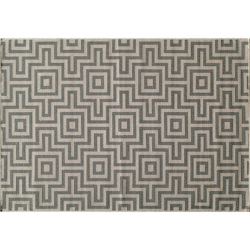 Momeni Baja Geometric Indoor Outdoor Rug - 6'7'' x 9'6''