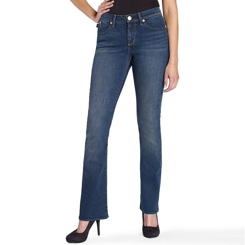 Women's Rock & Republic® Denim Rx Kendra Embellished Curvy Bootcut Jeans
