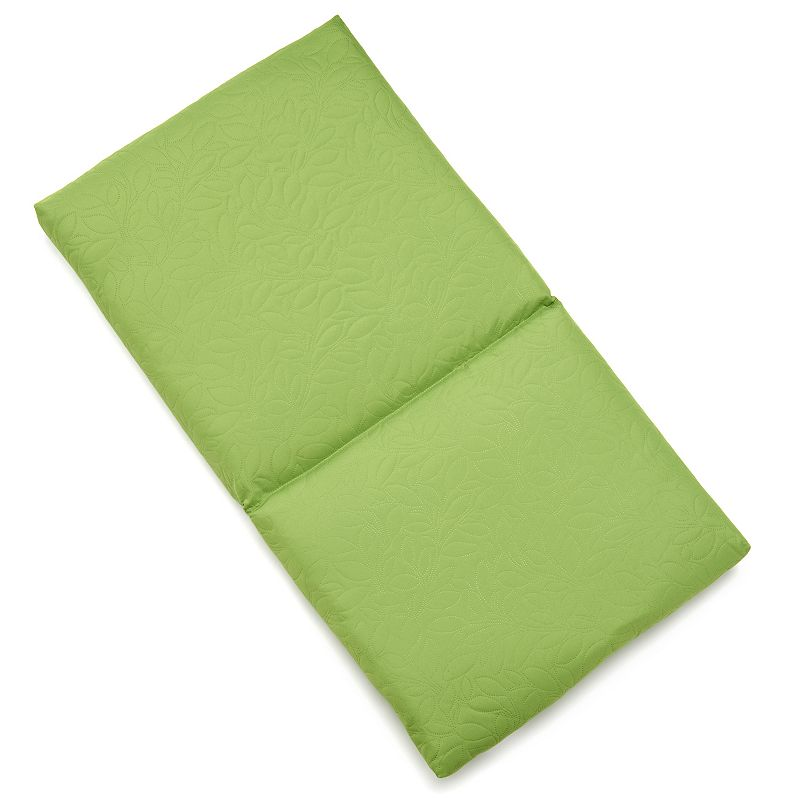 Edie Inc. Sonic Leaf Indoor Outdoor Flanged Chair Pad