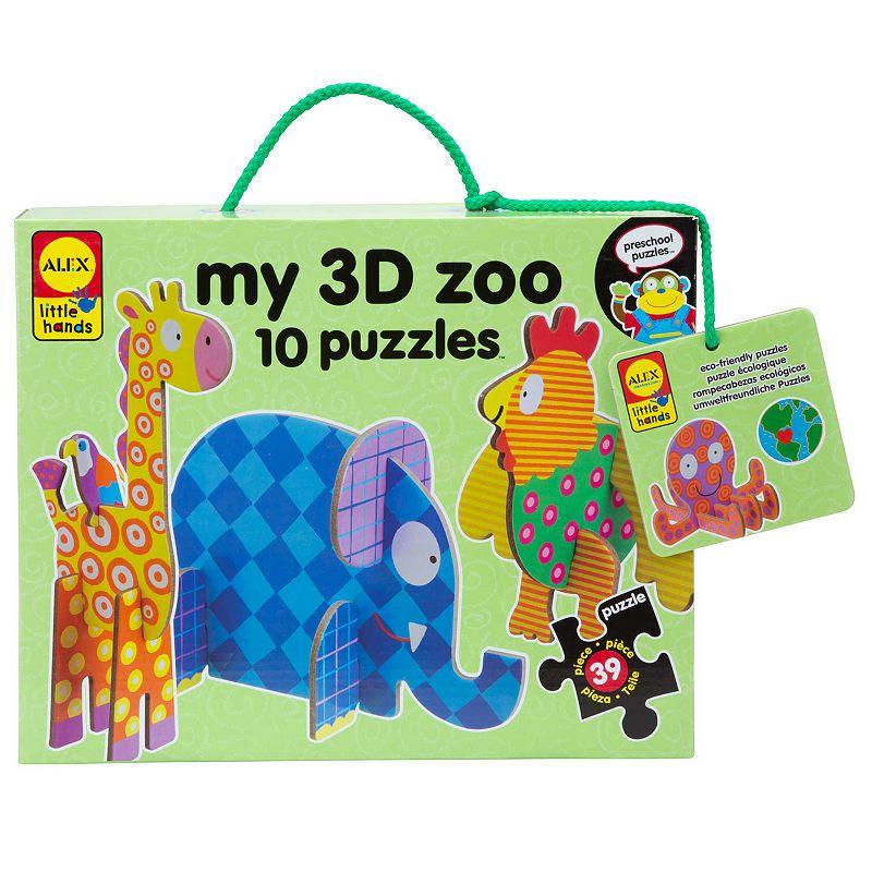 ALEX My 3D Zoo Craft Set