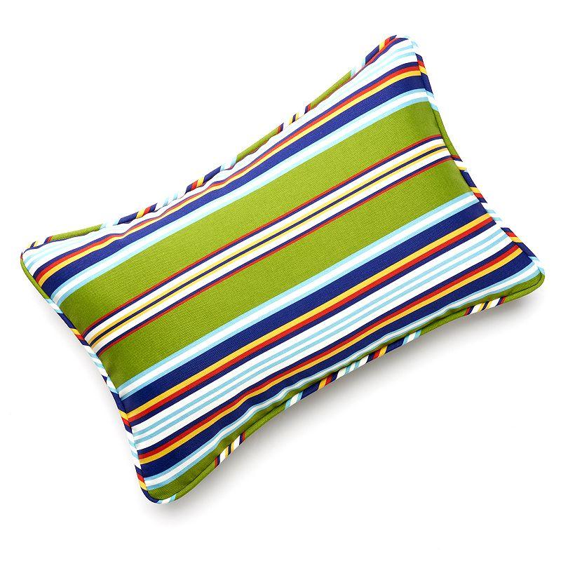 Edie Inc. Classic Stripe Indoor Outdoor Decorative Pillow - 13'' x 20''