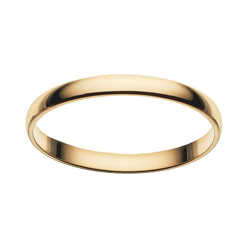 Cherish always 10k gold wedding ring for Kohls jewelry mens rings