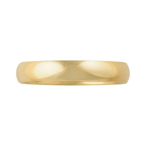 Cherish Always 10k Gold Wedding Band - Men