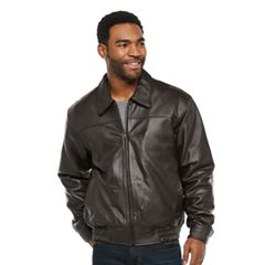 Men's Vintage Leather Split Nappa Leather Jacket by
