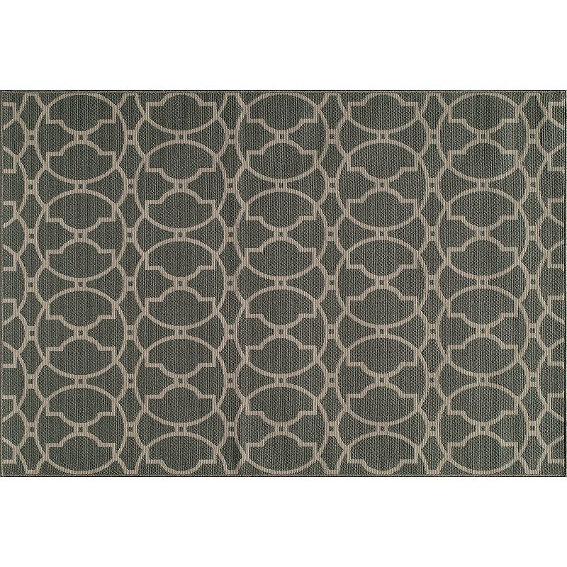 Momeni Baja Geometric Indoor Outdoor Rug - 3'11'' x 5'7''