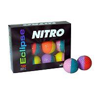 Nitro 12-pk. Eclipse Golf Balls