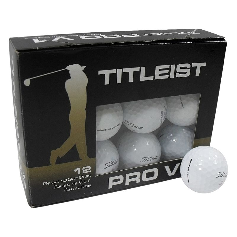 Nitro 12-pk. Titleist Pro V1x Recycled Golf Balls, White