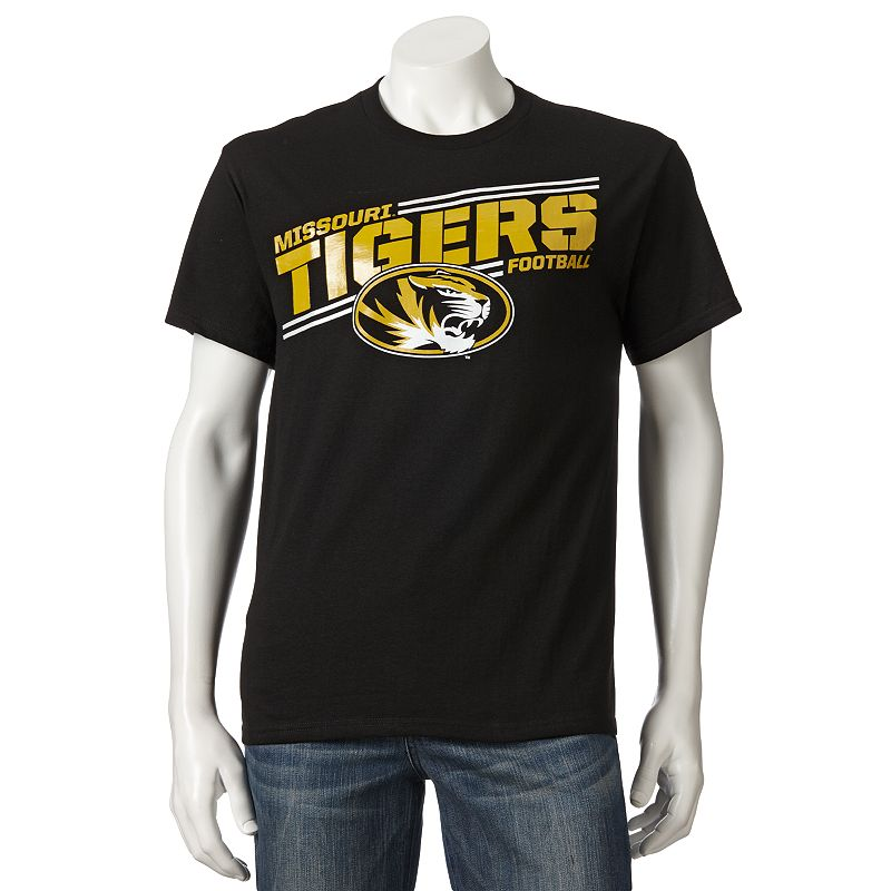 Men's Section 101 by Majestic Missouri Tigers By The Numbers Tee