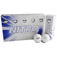 Nitro 15-pk. White Out Golf Balls