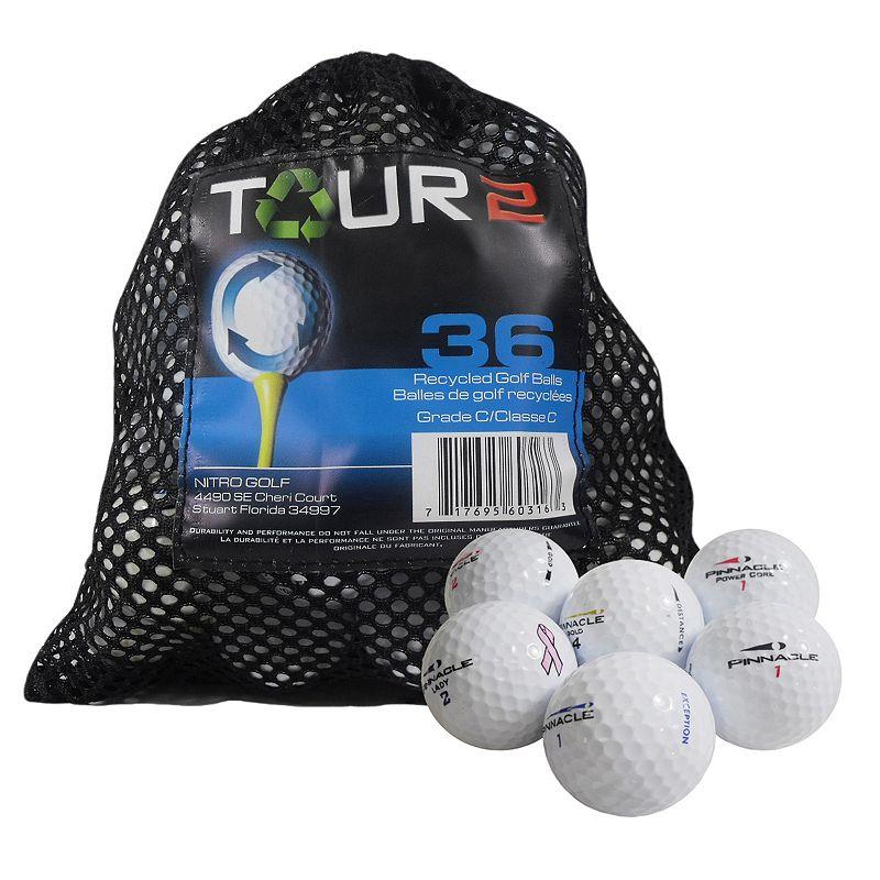 Nitro 36-pk. Tour 2 Recycled Golf Balls, Multi/None