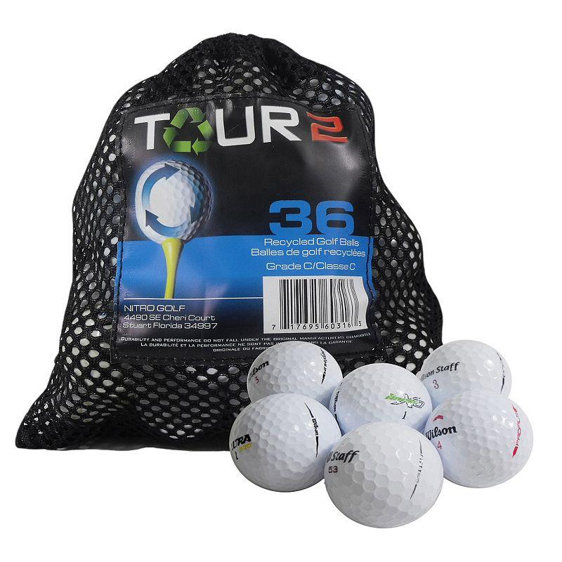 Nitro 36-pk. Recycled Wilson Golf Balls, Multi/None