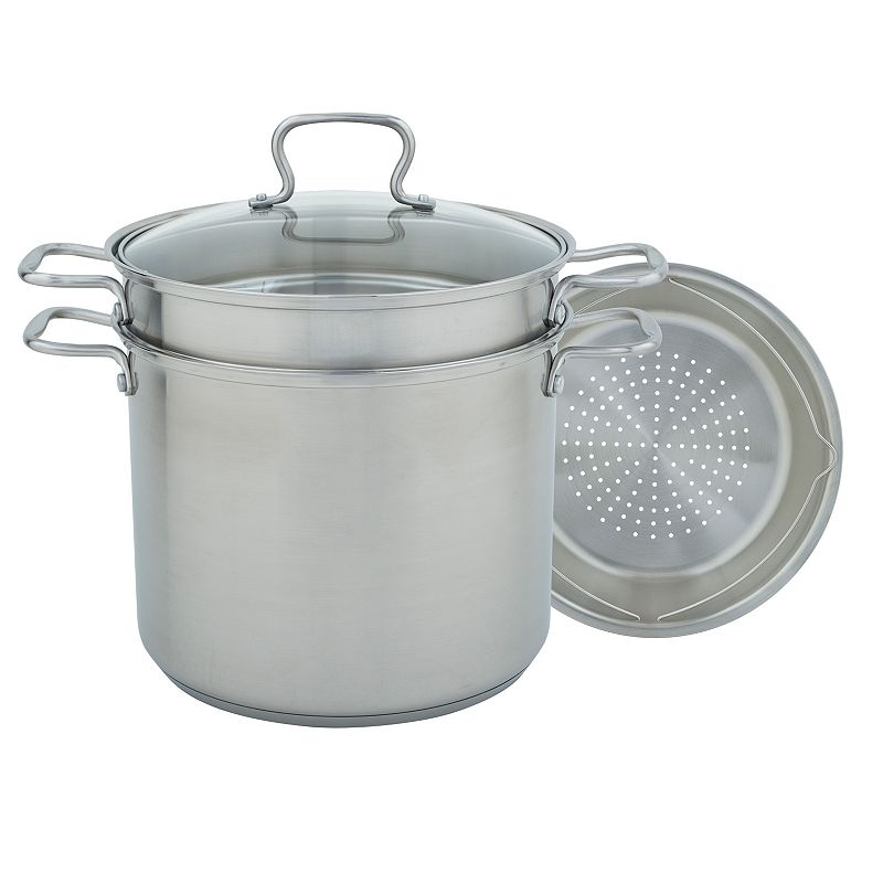 Range Kleen 12-qt. Stainless Steel Covered Multipot Set