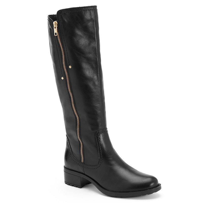 Bussola Style Gia Leather Riding Boots - Women