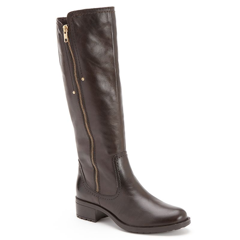 Bussola Style Gia Leather Riding Boots - Women