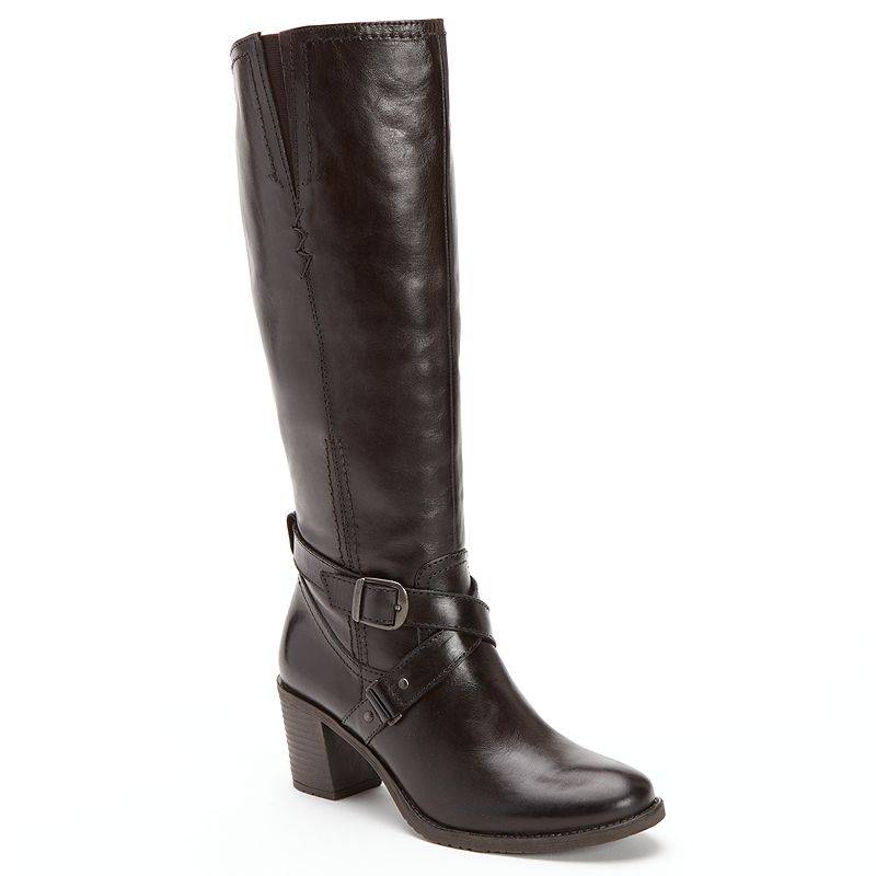 Bussola Style Hyla Leather Riding Boots - Women