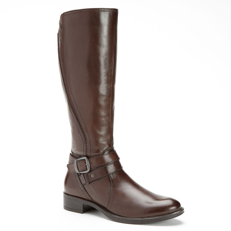Bussola Style Madrid Leather Riding Boots - Women