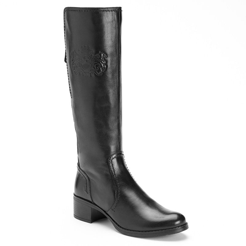 Bussola Style Val Leather Riding Boots - Women