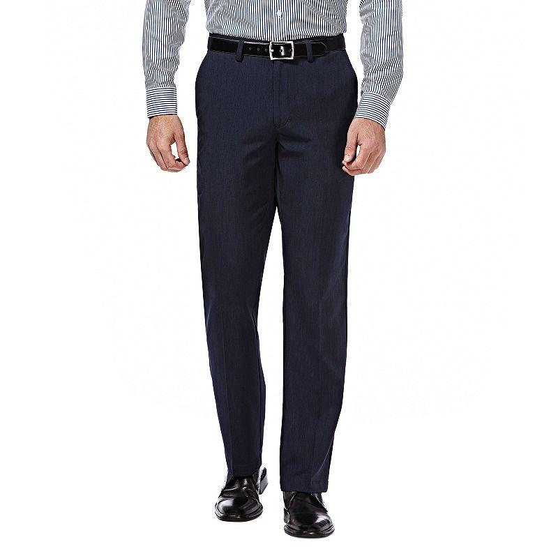 Men's Haggar® Straight-Fit Performance Flex-Waist Pants
