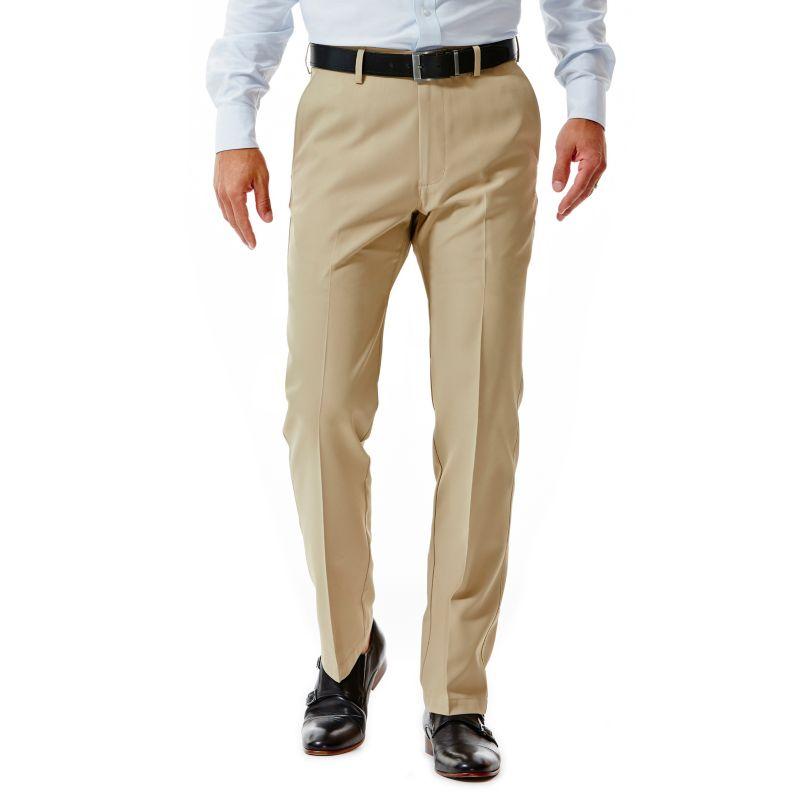 Men S Haggar 174 Straight Fit Performance Flex Waist Pants