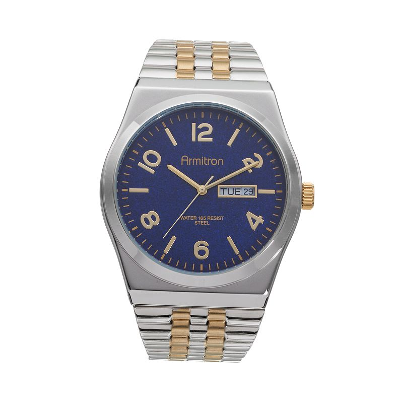 Armitron Men's Two Tone Stainless Steel Expansion Watch - 20/4967BLTT