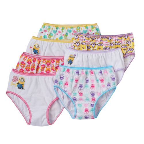 Despicable Me 7-pk. Briefs - Girls