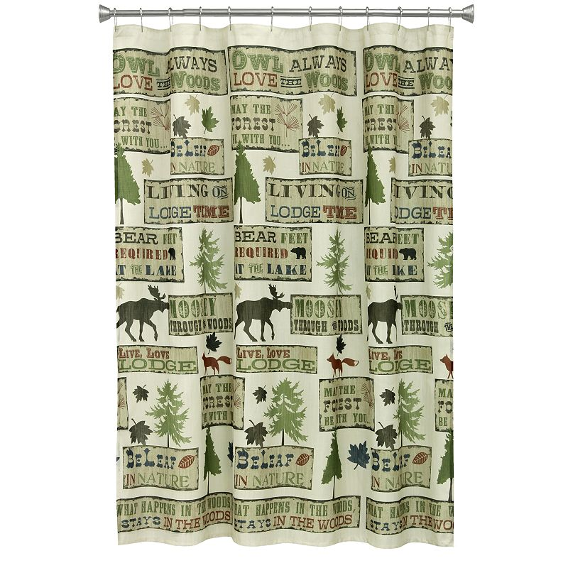 Rustic Shower Curtain Kohl 39 S