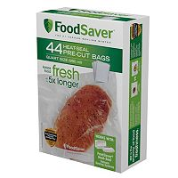 FoodSaver Two 44-qt. Pre-Cut Heat-Seal Bags Set