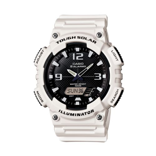 Casio Watch - Men's Tough Solar Resin Analog and Digital