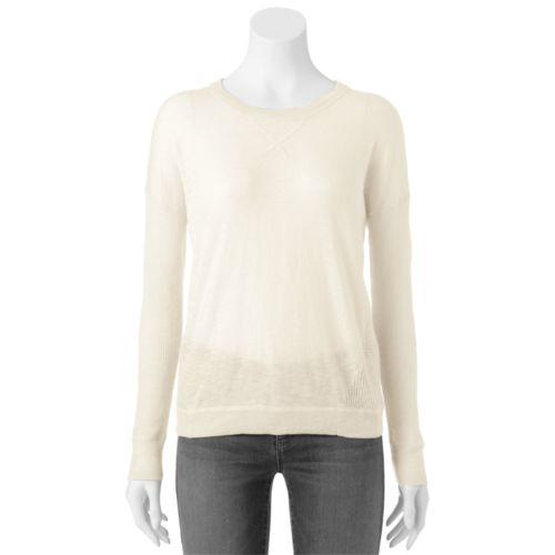SO Textured Sweater - Juniors
