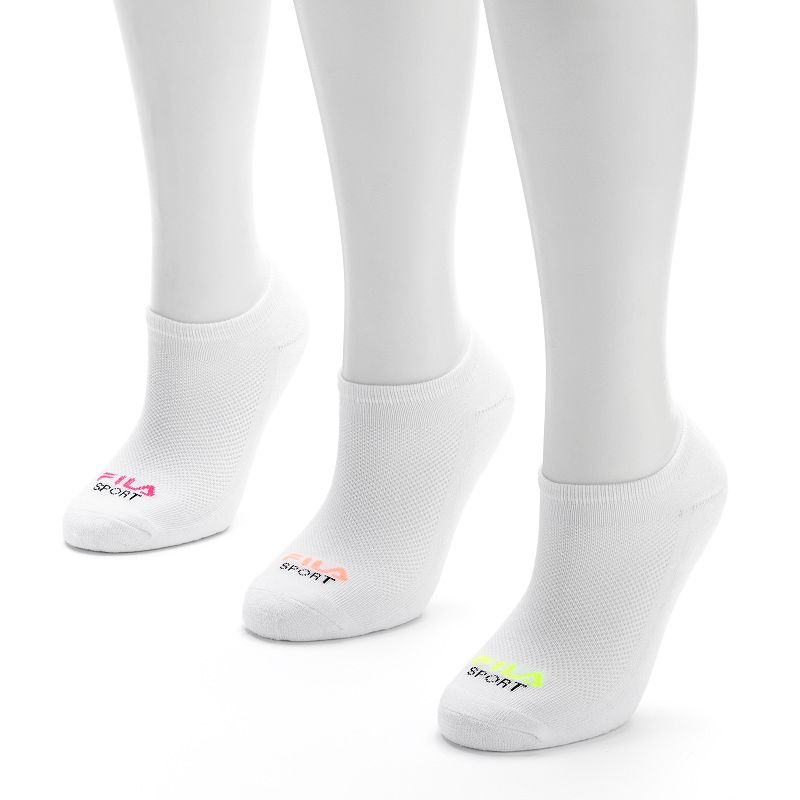 FILA SPORT® 3-pk. No-Show Socks - Women