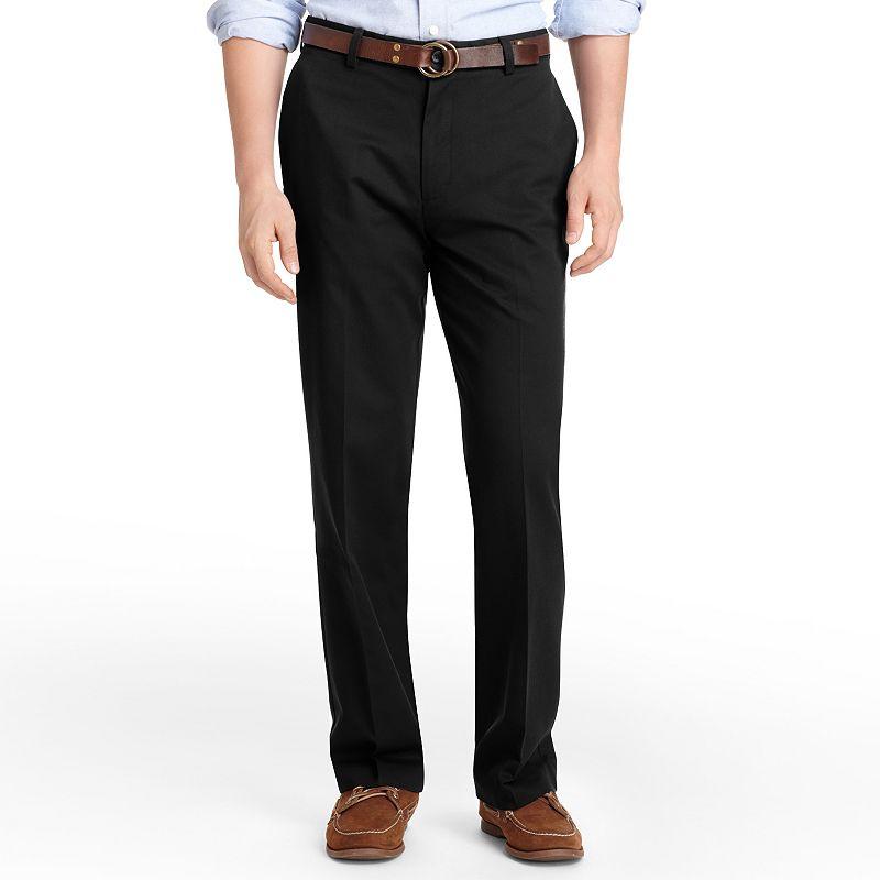 Men's IZOD Madison Classic-Fit No-Iron Comfort Stretch Flat-Front Chino Pants