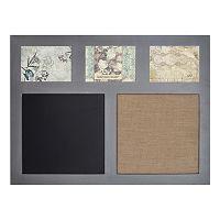 Sheffield Home Chalkboard & Memo Board 3-Opening Frame