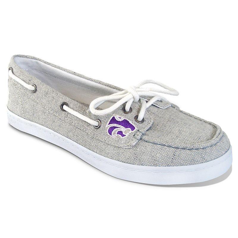 Women's Campus Cruzerz Kansas State Wildcats Kauai Boat Shoes