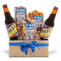 Alder Creek Nuts For Dad Father's Day Gift Basket