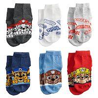 Toddler Paw Patrol 6-pk. Ankle Socks