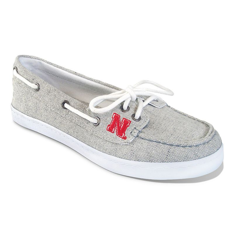 Women's Campus Cruzerz Nebraska Cornhuskers Kauai Boat Shoes