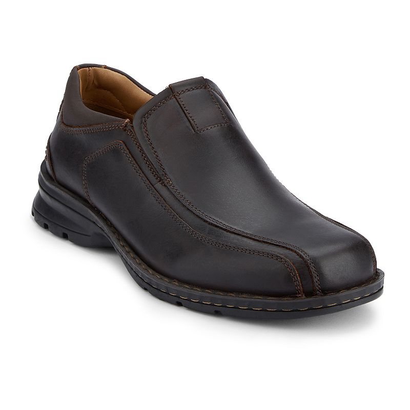 Dockers Agent Men's Leather Slip-On Shoes