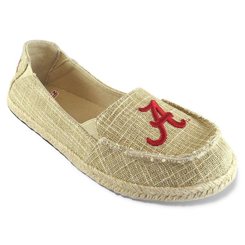 Women's Campus Cruzerz Alabama Crimson Tide Sparkle Cabo Slip-On Shoes