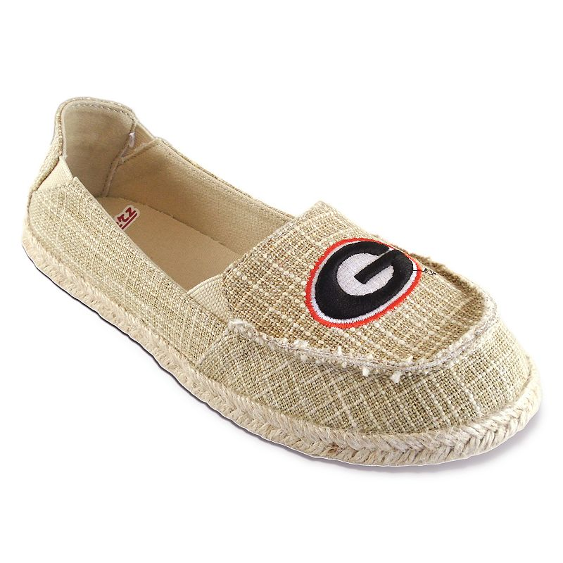 Women's Campus Cruzerz Georgia Bulldogs Sparkle Cabo Slip-On Shoes