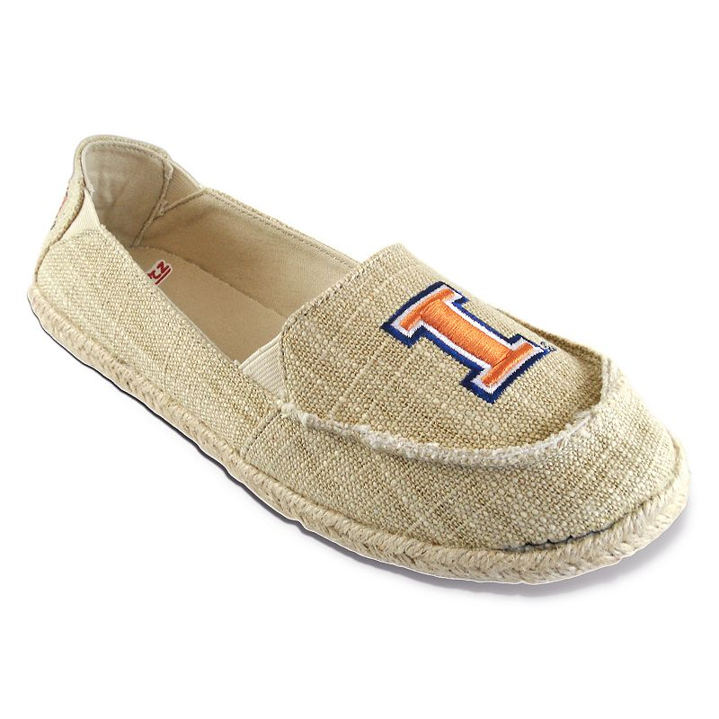 Women's Campus Cruzerz Illinois Fighting Illini Sparkle Cabo Slip-On Shoes