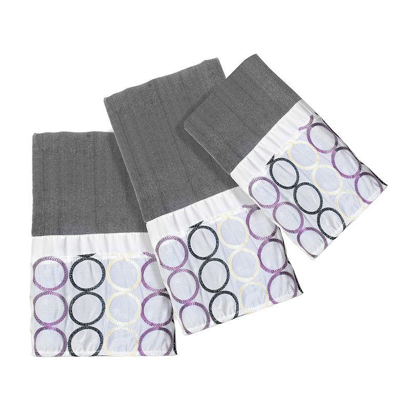 Rings 3-pc. Bath Towel Set
