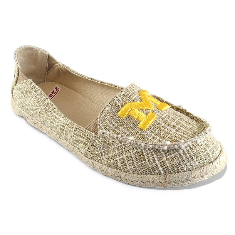 Women's Campus Cruzerz Michigan Wolverines Sparkle Cabo Slip-On Shoes