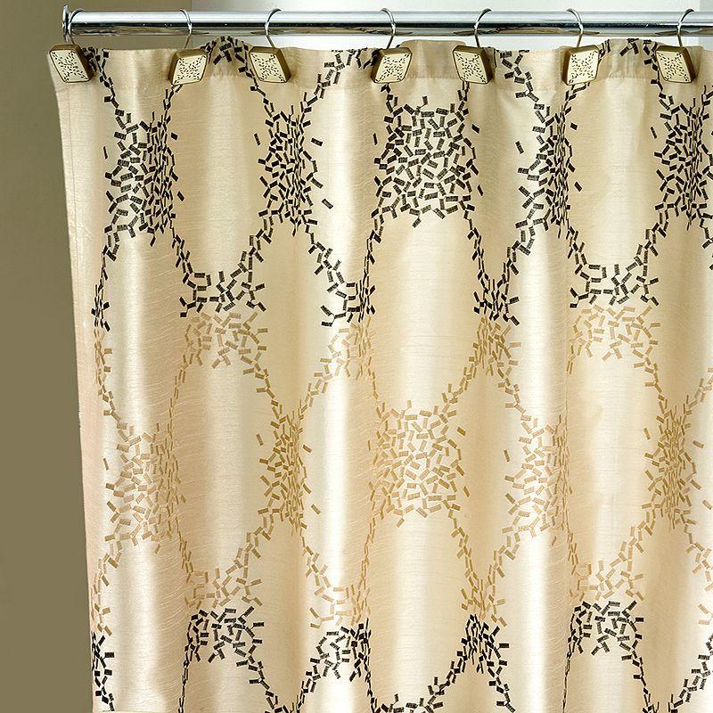 Confetti Fabric Shower Curtain