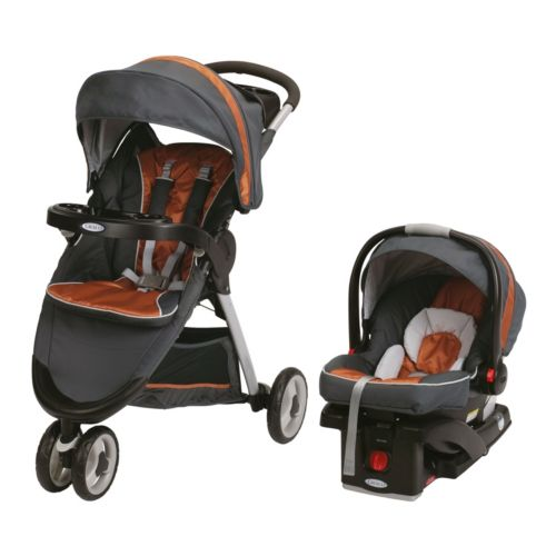 Graco FastAction Click Connect Sport Travel System