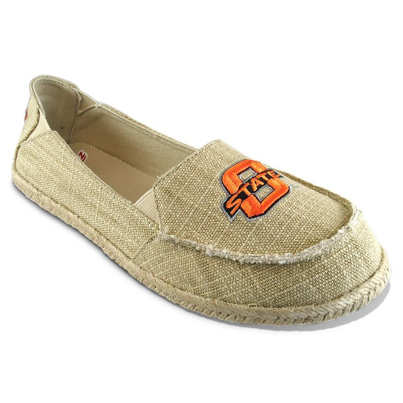 Women's Campus Cruzerz Oklahoma State Cowboys Sparkle Cabo Slip-On Shoes
