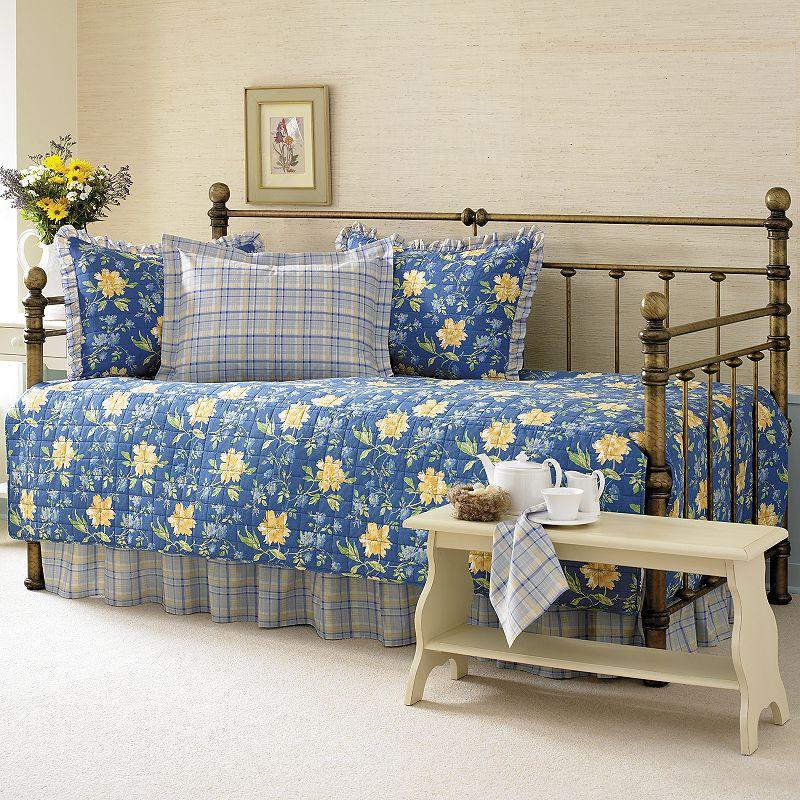 chandon damask 5 pc daybed bedding set