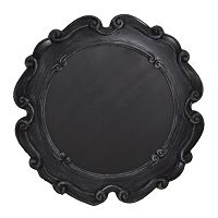 Parisian Home Round Framed Chalkboard Wall Decor