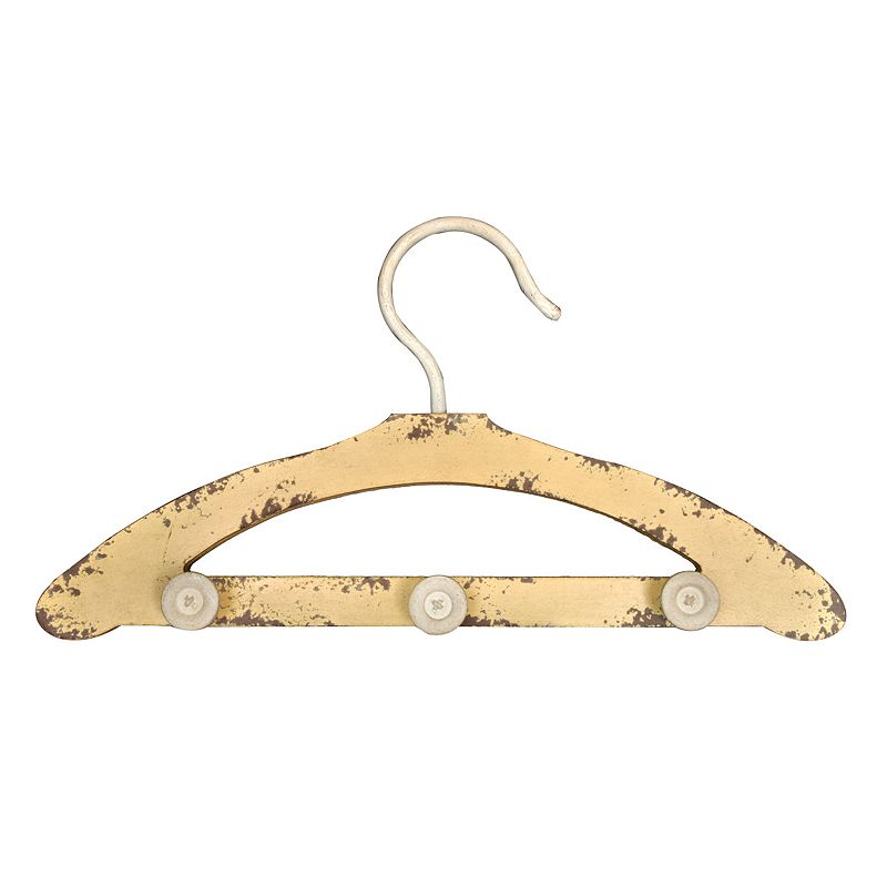 Sheffield Home 3-Hook Clothes Hanger Wall Décor