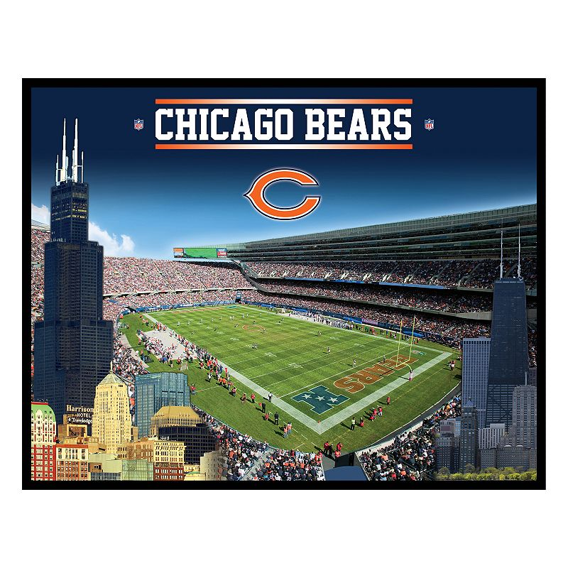 Chicago Bears Stadium Canvas Wall Art